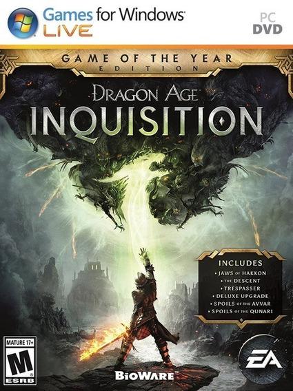 Dragon Age Inquisition Complete Edition Frete Gratis - Pc