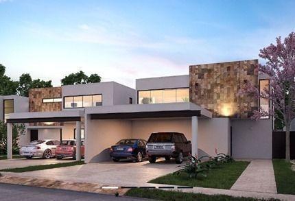 Casa Residencial En Privada En Cholul Modelo Amenia