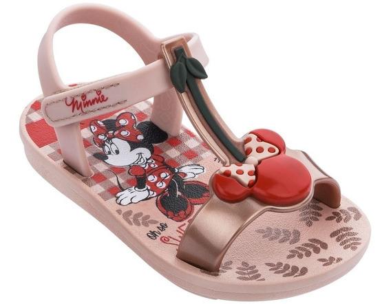 Sandália Infantil Minnie Cherry Baby - Grendene Kids 22142