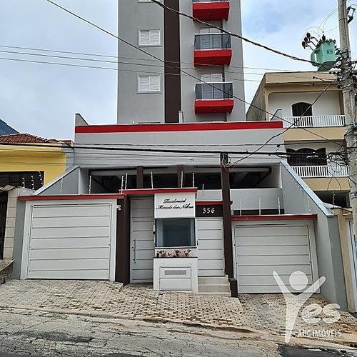 Imagem 1 de 10 de Ref.: 2560 - Apartamento, 02 Quartos Sendo 01 Suíte, 02 Vagas, Campestre, Santo André - 2560