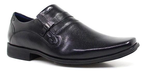Sapato Masculino Social Couro Macio Ferracini 5471500g Preto