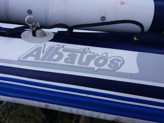 Gomon Albatros 380 Piso Madera, Motor Honda Bf5a De 5hp