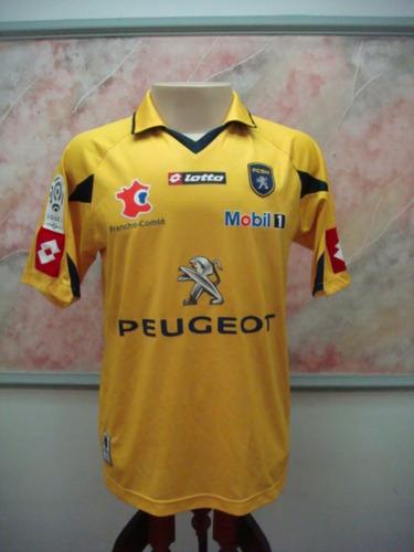 Camisa Futebol Sochaux Montbeliare França Lotto Jogo 2408