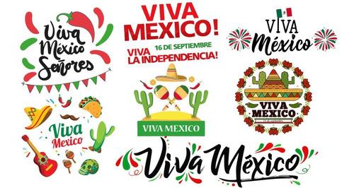 Vectores Día De La Independencia De México- 16 De Septiembre   Mercado Libre