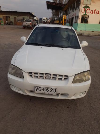Hyundai Accent Gls 16v Blanco Automático