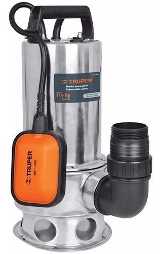 Bomba Sumergible Agua Sucia, Uso Rudo 1 1/2 - Truper 12608