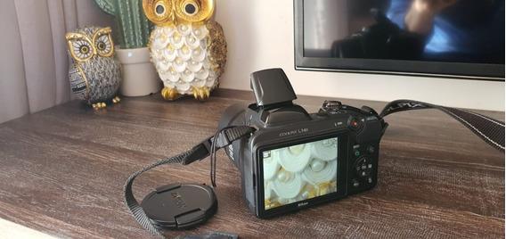 Nikon Coolpix L340 Pouco Usada