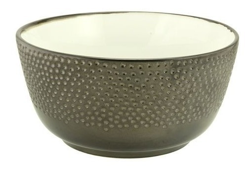 Bowl Ceramica Ensaladera Peltre 20x10 - Kromacolor