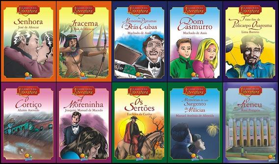 Literatura Brasileira 10 Clássicos - Versão Infanto-juvenil
