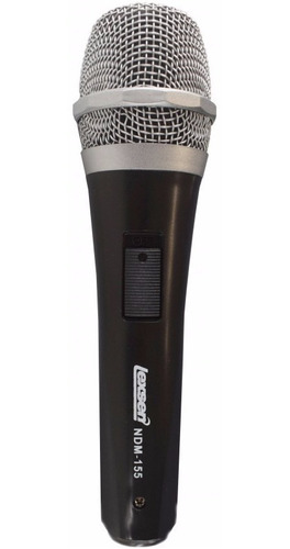 Micrófono De Mano Profesional Dinámico Lexsen Ndm-155 Con Cable Ideal Vivo Grabaciones Karaoke