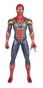 Avengers Homem Aranha Hero Series Titan Power Fx 12 Pol El