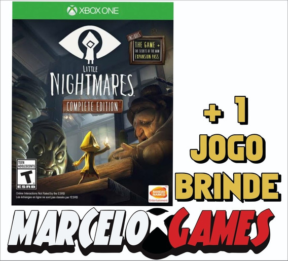 Little Nightmares Complete Edition Xbox One Midia Digital