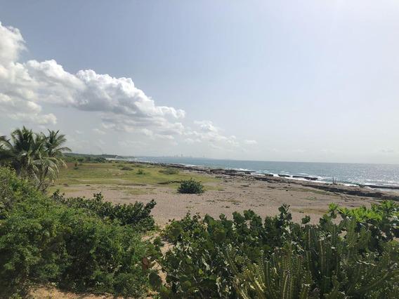 Solar En Venta A Orilla De Playa Ideal P/complejo Turístico