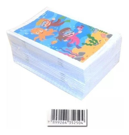 Caderno Infantil Brochura Pq 48 Folhas Pacote Atacado C/ 20
