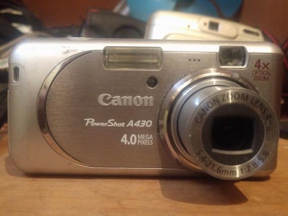 Câmera Canon Digital Power Shot A430
