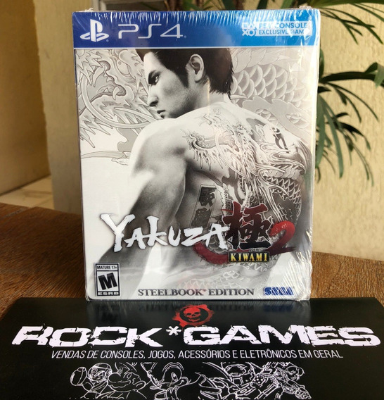 Yakuza Kiwami 2 Steelbook Edition - Ps4
