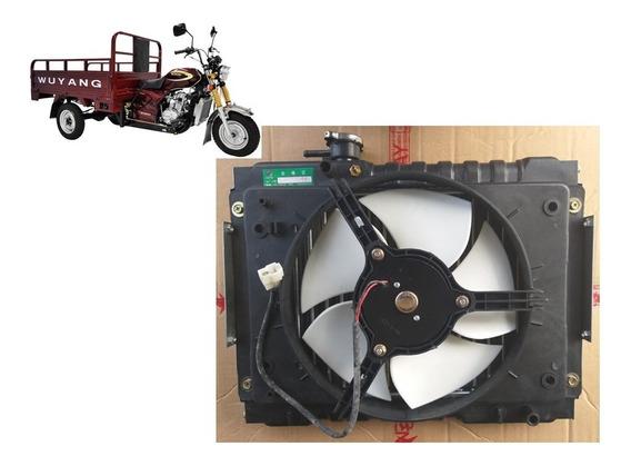 Radiador Ventuinha Completo Do Triciclo Wuyang Shineray