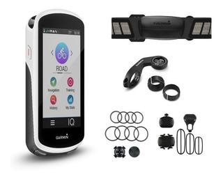 Gps Ciclismo Garmin Edge 1030 Bundle Sensores Cinta Premium