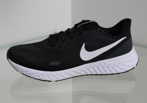Tenis Masculino E Feminino Nike Revolution 5 Preto