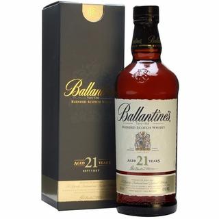 Whisky Ballantines 21 Años C/estuche Envio Gratis En Caba