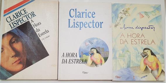 Livros Clarice Lispector A Hora Da Estrela P/ Colecionadores