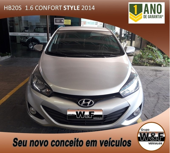 Hb20s Confort Style 1.6 Completo