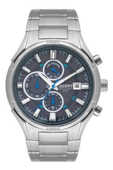 Relógio Orient Masculino - Mbssc193-g1sx - Prata