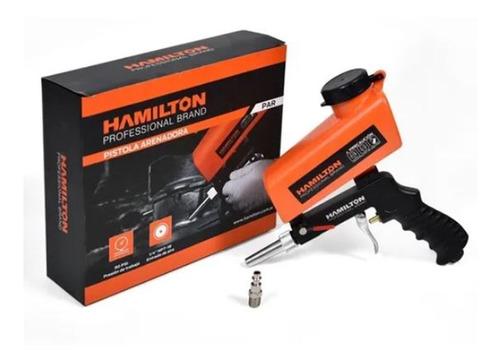 Pistola Arenadora Neumatica Hamilton Aluminio 600cc Par