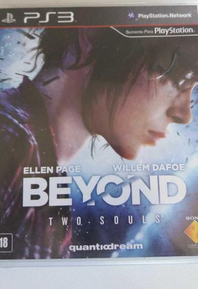 Beyond Two Souls - Ps3 Original Em Mídia Fisica