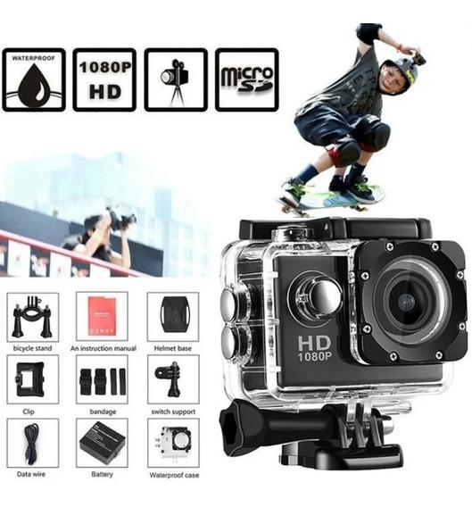 Camera 4k De Ação Para Pratica Esporte Imagem Hd Vídeo