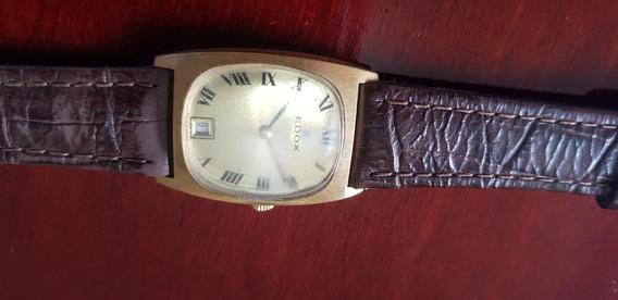Relógio Suiço Edox 1930 Em Perfeito Estado