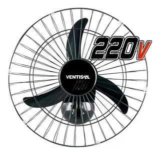 Ventilador Oscilante De Parede 50cm New Grade Preto 220v - V