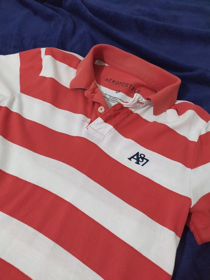 Playera Polo Aeropostale A87 Original