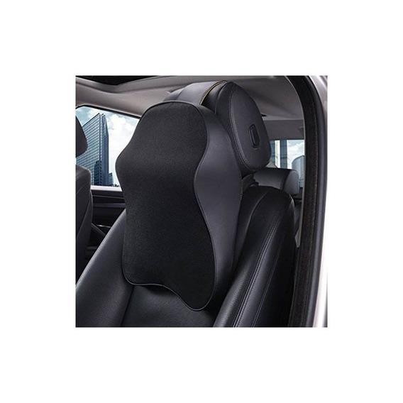 Sojoy Premium Memory Foam Car Neck Almohada (classic Black)