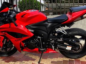 Honda Crb 600 Rr Negro Rojo