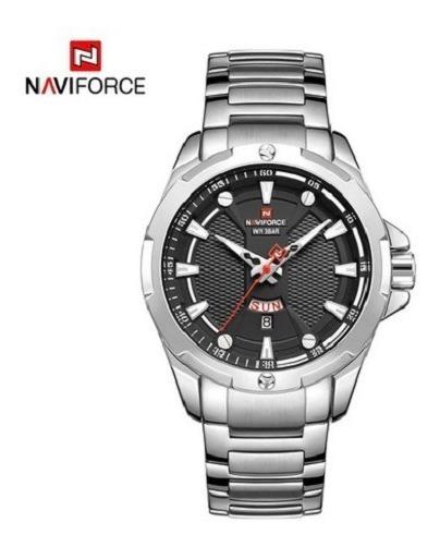 Relógio Naviforce 9161 Pulseira Inox Masculino