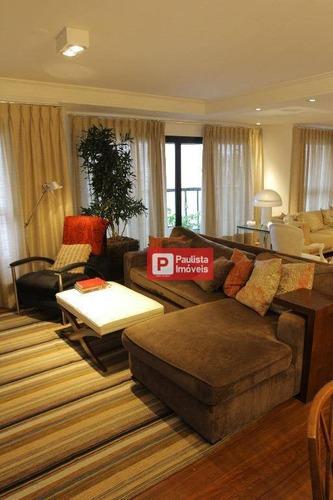 Apartamento Com 4 Dormitórios À Venda, 250 M²  Indianópolis - São Paulo/sp - Ap15685