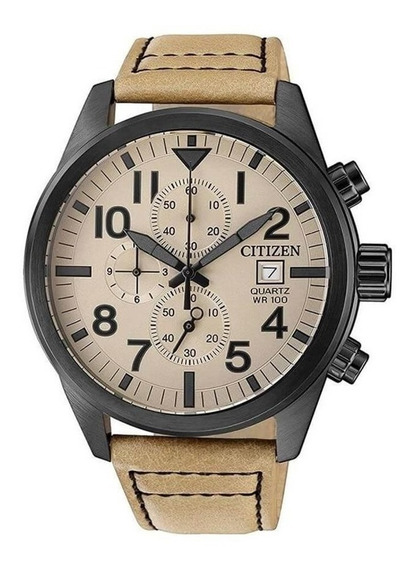Relógio Citizen Masculino Ref: Tz31178x Cronógrafo Black