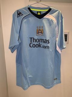 Camisa Manchester City Autografada Pelo Elano