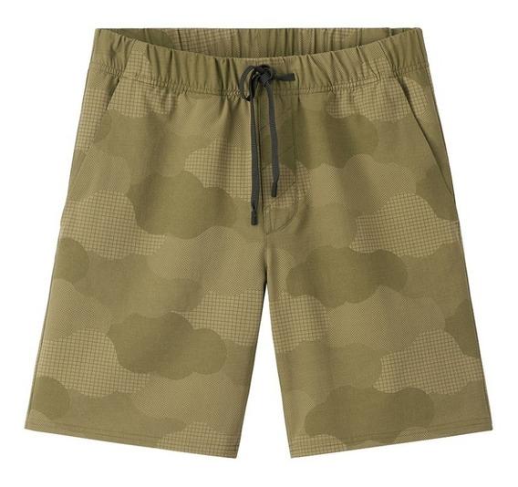 Shorts Caballeros Cargo Outdoor Voices Camuflaje Talla S