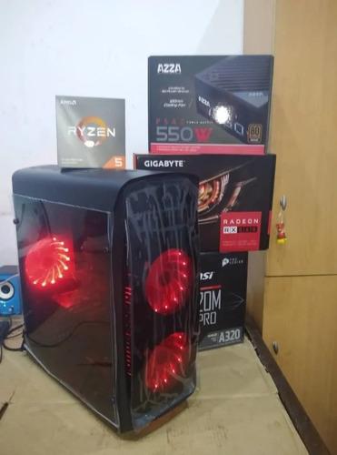 Computadora Ryzen 5 Con 16gb Ssd500 Grafica Rx Gaming Oferta