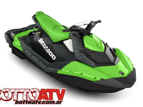 Seadoo Spark 3up 90 Hp 2018 Con Ibr !!