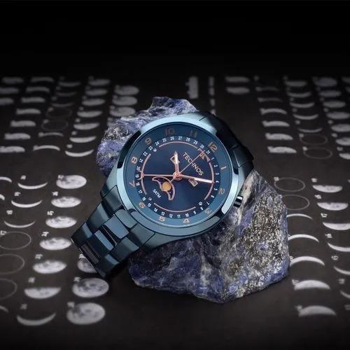 Relógio Technos 6p80ae/4a Azu