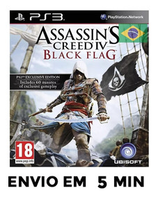 Assassins Creed 4 Black Flag Ps3 Psn Português Envio Agora