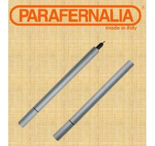 Pluma Parafernalia Hecha En Italia Color Titanio