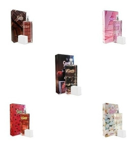 5 Perfumes Candy 55 Ml Envio Imediato