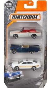 Matchbox Pack Com 3 Open Roadsters Dyw93 - Mattel