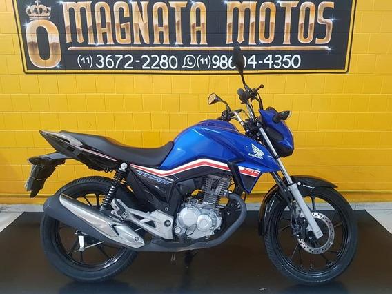 Honda Cg Titan 160 - 2019 - Azul - Km 13.000