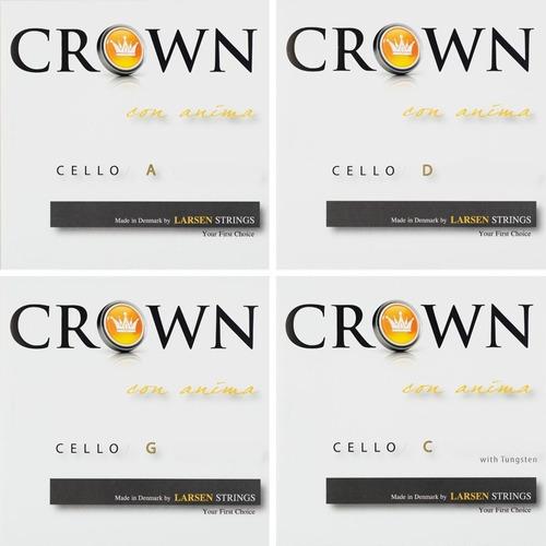 Crown Larsen Encordado Cello 4/4 Tension Media