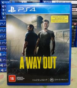 A Way Out Ps4 - Jogo Mídia Física Em Português Original